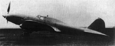 The Il-2 single seater prototype