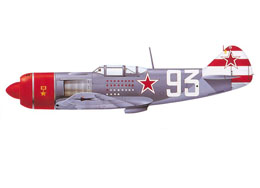 la-7 of Dolgushin with white-red stripes