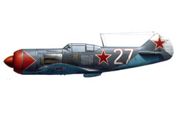 la-7 of Ivan kozhedub