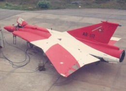 Early Draken version of F16