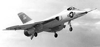 F5D Skylancer in flight