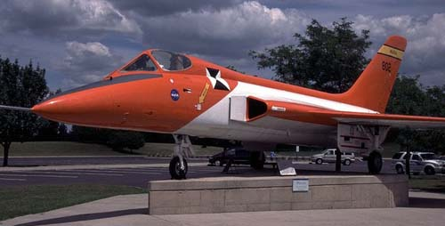 The F5D Skylancer flown by Neil Armstrong